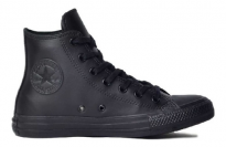 CONVERSE CHUCK TAYLOR ALL STAR MONOCHROME LEATHER HI